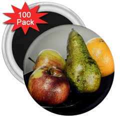 Get Fruity 3  Magnets (100 pack)