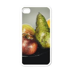 Get Fruity Apple iPhone 4 Case (White)
