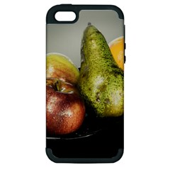 Get Fruity Apple iPhone 5 Hardshell Case (PC+Silicone)