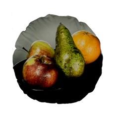 Get Fruity Standard 15  Premium Flano Round Cushions