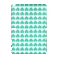 Tiffany Aqua Blue Candy Hearts on White Galaxy Note 1