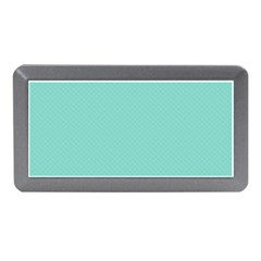 Tiffany Aqua Blue Puffy Quilted Pattern Memory Card Reader (Mini)