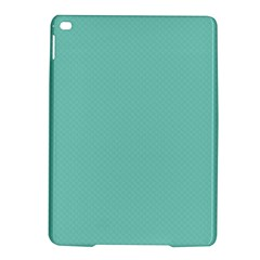 Tiffany Aqua Blue Puffy Quilted Pattern iPad Air 2 Hardshell Cases