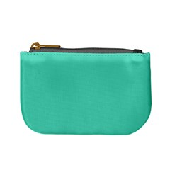 Classic Tiffany Aqua Blue Solid Color Mini Coin Purses