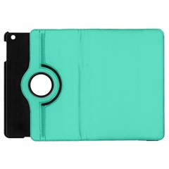 Classic Tiffany Aqua Blue Solid Color Apple iPad Mini Flip 360 Case