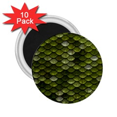 Green Scales 2.25  Magnets (10 pack)