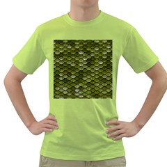Green Scales Green T-Shirt