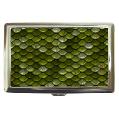 Green Scales Cigarette Money Cases