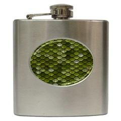 Green Scales Hip Flask (6 oz)