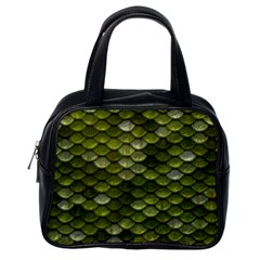 Green Scales Classic Handbags (One Side)
