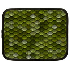 Green Scales Netbook Case (XL)