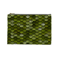 Green Scales Cosmetic Bag (Large)