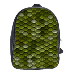 Green Scales School Bags(Large)