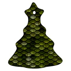 Green Scales Ornament (Christmas Tree)