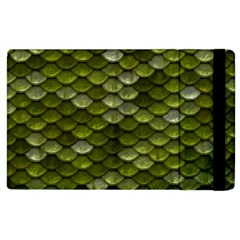 Green Scales Apple iPad 3/4 Flip Case