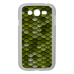 Green Scales Samsung Galaxy Grand DUOS I9082 Case (White)