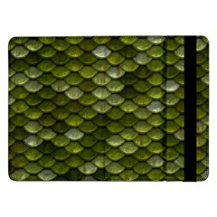 Green Scales Samsung Galaxy Tab Pro 12.2  Flip Case