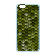 Green Scales Apple Seamless iPhone 6/6S Case (Color)