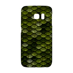 Green Scales Galaxy S6 Edge