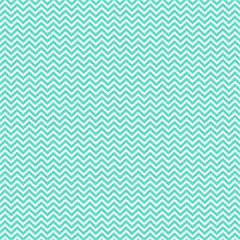 Tiffany Aqua Blue Chevron Zig Zag Magic Photo Cubes