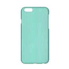 Classy Tiffany Aqua Blue Sailor Stripes Apple iPhone 6/6S Hardshell Case