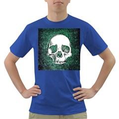 Green Skull Dark T-Shirt