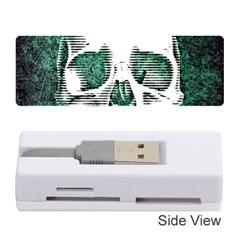 Green Skull Memory Card Reader (Stick)