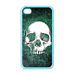 Green Skull Apple iPhone 4 Case (Color)