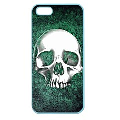 Green Skull Apple Seamless iPhone 5 Case (Color)