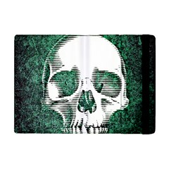 Green Skull Apple iPad Mini Flip Case