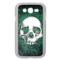 Green Skull Samsung Galaxy Grand DUOS I9082 Case (White)