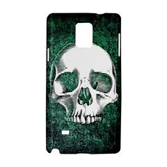 Green Skull Samsung Galaxy Note 4 Hardshell Case
