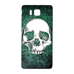 Green Skull Samsung Galaxy Alpha Hardshell Back Case