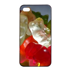 Gummi Bears Apple iPhone 4/4s Seamless Case (Black)