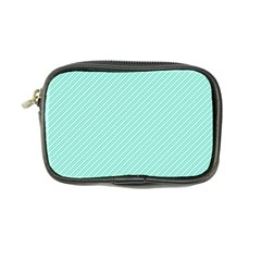 Tiffany Aqua Blue Deckchair Stripes Coin Purse