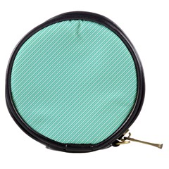 Tiffany Aqua Blue Deckchair Stripes Mini Makeup Bags