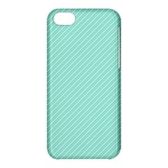 Tiffany Aqua Blue Deckchair Stripes Apple iPhone 5C Hardshell Case