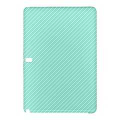 Tiffany Aqua Blue Deckchair Stripes Samsung Galaxy Tab Pro 12.2 Hardshell Case