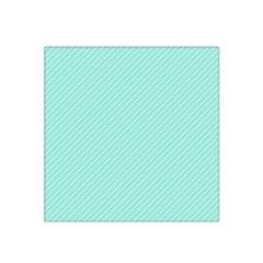 Tiffany Aqua Blue Deckchair Stripes Satin Bandana Scarf