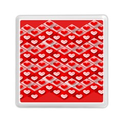 Hearts On Tile Memory Card Reader (Square)