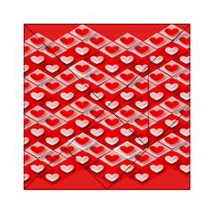 Hearts On Tile Acrylic Tangram Puzzle (6  x 6 )
