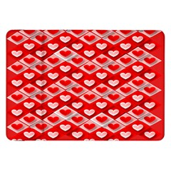 Hearts On Tile Samsung Galaxy Tab 8.9  P7300 Flip Case