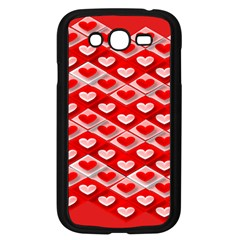 Hearts On Tile Samsung Galaxy Grand DUOS I9082 Case (Black)