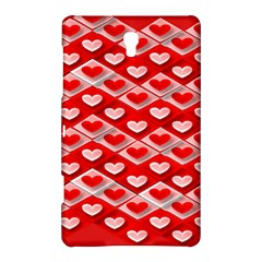 Hearts On Tile Samsung Galaxy Tab S (8.4 ) Hardshell Case