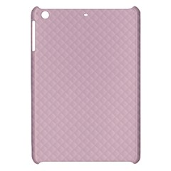 Baby Pink Stitched and Quilted Pattern Apple iPad Mini Hardshell Case