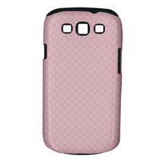 Baby Pink Stitched and Quilted Pattern Samsung Galaxy S III Classic Hardshell Case (PC+Silicone)