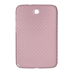 Baby Pink Stitched and Quilted Pattern Samsung Galaxy Note 8.0 N5100 Hardshell Case
