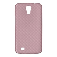 Baby Pink Stitched and Quilted Pattern Samsung Galaxy Mega 6.3  I9200 Hardshell Case