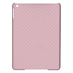 Baby Pink Stitched and Quilted Pattern iPad Air Hardshell Cases