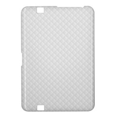 Bright White Stitched and Quilted Pattern Kindle Fire HD 8.9